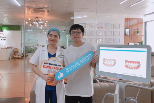 Khách hàng niềng răng Invisalign thành công tại nha khoa Vân Anh - Bắc Ninh